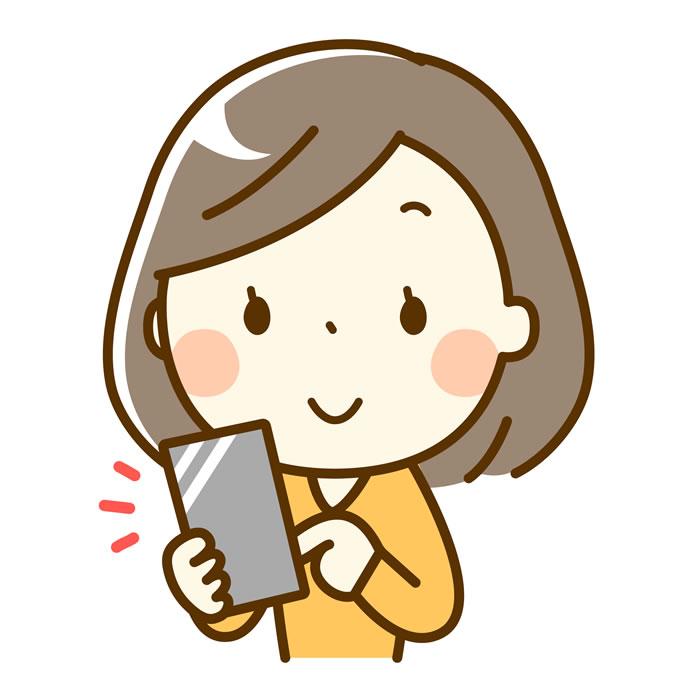 WEB問診票に入力、送信